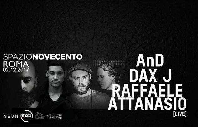 Spazio 900 | AnD – DaxJ – Raffaele Attanasio