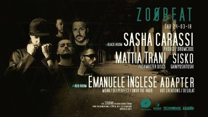 24.03 Zoøbeat – Techno party